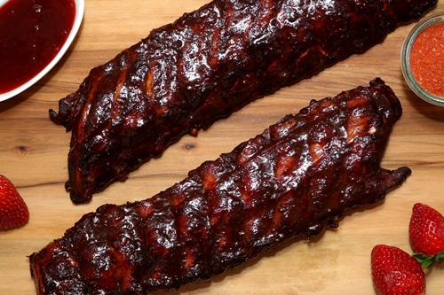 Hot Strawberry Ribs