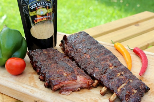 Ribs mit Don Marco's Carolina Mustard Rub