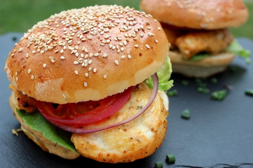 Tandoori Chicken-Burger