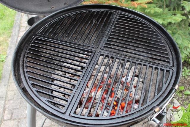 Weber Elektrogrill Einbrennen : Chilis grillen gusseisenrost pflegen und einbrennen